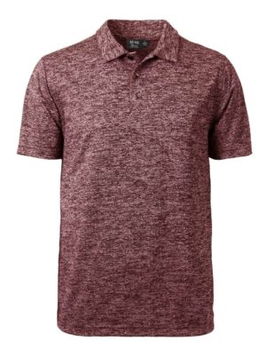 Men's Honeycomb Jacquard Polo