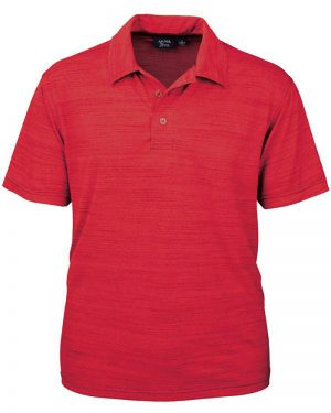 Men's Tiger Stripe Jersey Polo