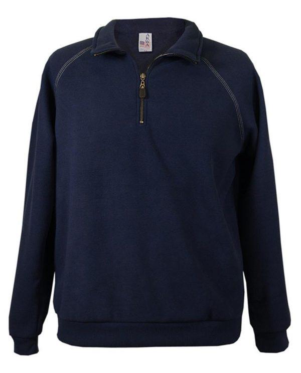 Corduroy Bonded Fleece 1/4 zip Pullover