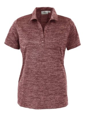 Ladies's Honeycomb Jacquard Polo