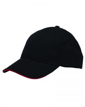 Unstructured Washed Cap with Pancake Visor