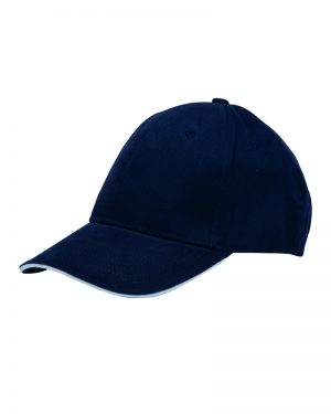 Structured Cap With Pancake Visor