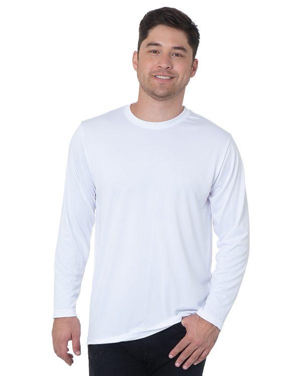 Unisex Long Sleeve Performance Poly Shirt