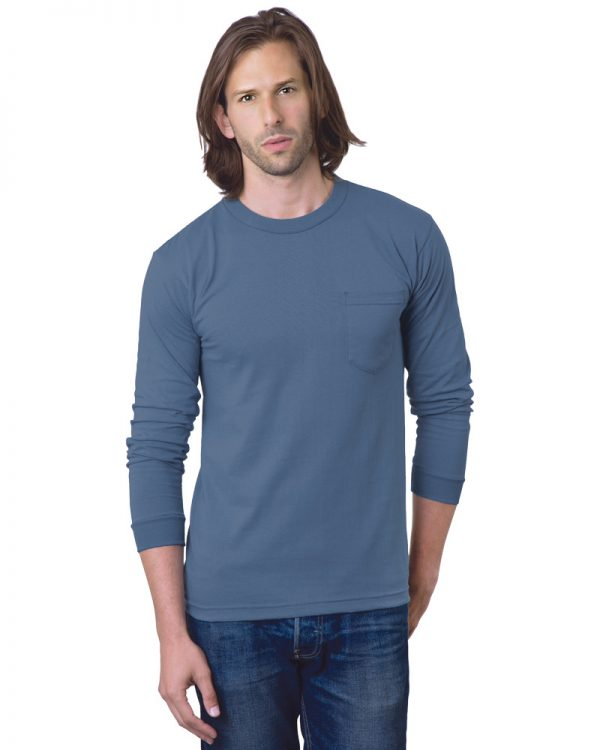Heavyweight Long Sleeve Pocket T Shirt