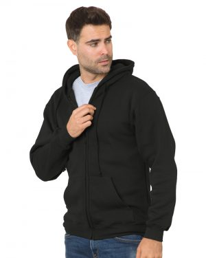Full Zipper Hooded Sweatshirt