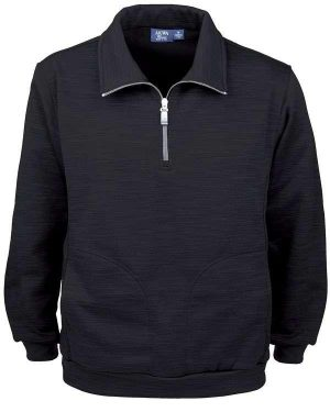 Tiger Stripe Fleece Men's Full Zip Jacket