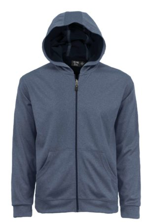 Men's Full Zip Hooded Jacket