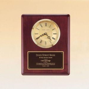 Rosewood Piano Clock