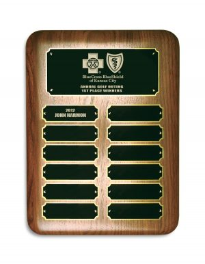 Yearly Plaque Award