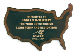 State Award Plaque