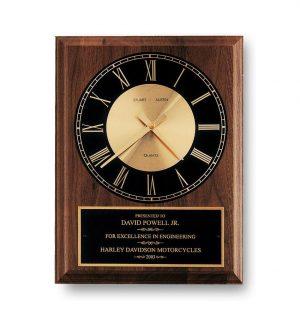 Walnut Clock Plaque